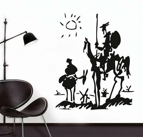 Vinilo El Quijote