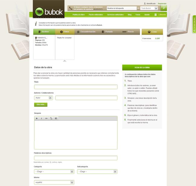 Registro Bubok