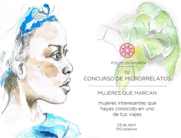 Concurso de microrrelatos de Focus on women.