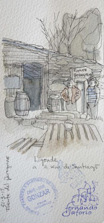 Ilustración de Ligonde de Fernando Gaforio.