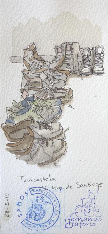 Ilustración de Fernando Gaforio de Triacastela.