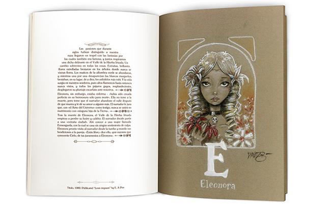Interior del libro The ABC of E.A.Poe