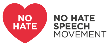 No Hate Speech Movement logo