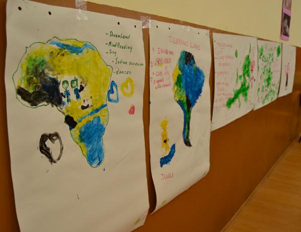 Imágenes de los distintos mapas de la tolerancia creados por los alumnos.