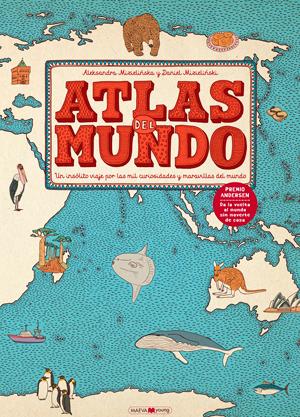 """Portada del libro """"Atlas del mundo""""."""