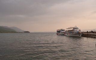 Imagen de Ohrid, en Macedonia.