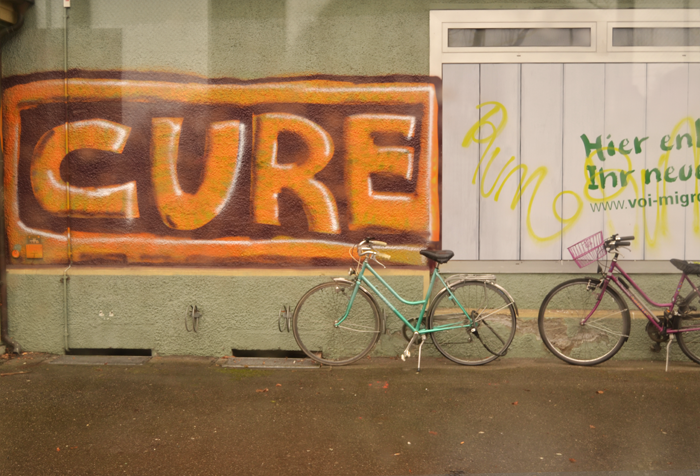 Imagen de un grafiti en Berna, Suiza.