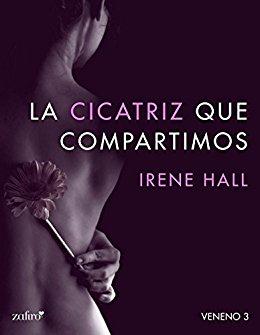 """Portada de la nueva edición del libro """"La cicatriz que compartimos"""", de Silvia Sánchez."""