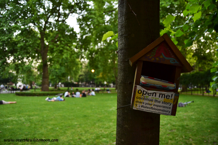 Nido de «The Tale of Bloomsbury» en Russel Square, Londres.