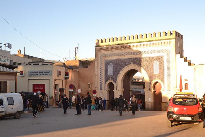 Bab Bouljoud, en Fez (Marruecos)