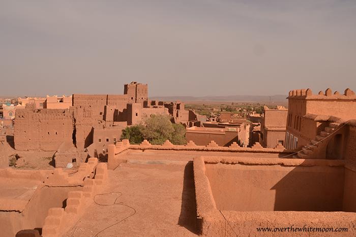 Imagen panorámica de la Kasbah Taourit, en Uarzazat