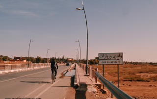 Puente en Uarzazat, Marruecos