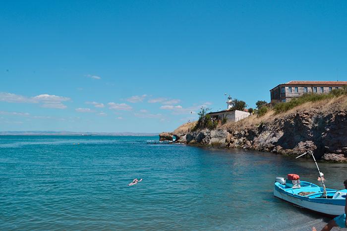 Burgas, en el mar Negro (Bulgaria).