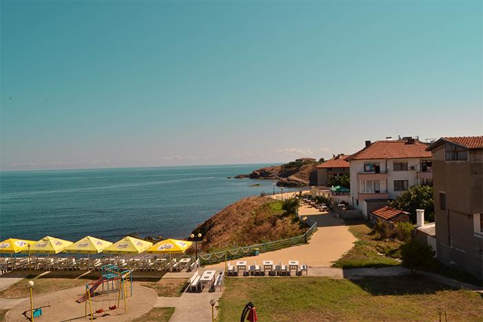 Imagen de Ahtopol, en el mar Negro (Bulgaria).