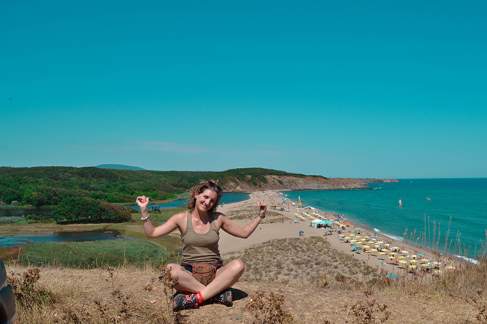 Imagen de Sinemorets, en la costa del mar Negro (Bulgaria).