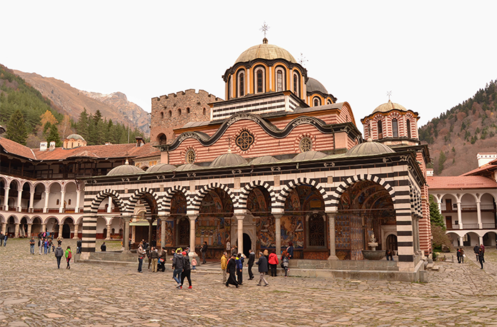 El Monasterio de Rila, parte del patrimonio búlgaro
