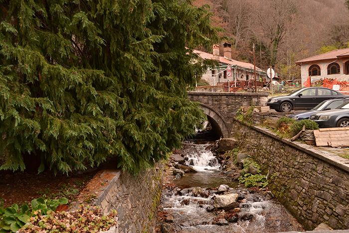 Alrededores del Monasterio de Rila, en Bulgaria.