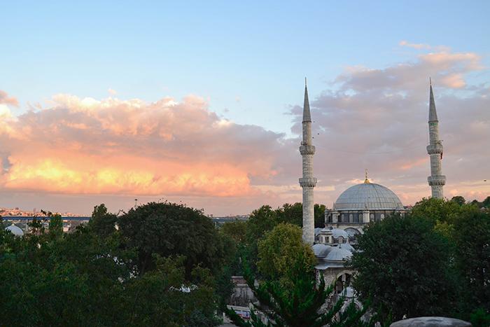 Mezquita de Eyup, en Estambul.