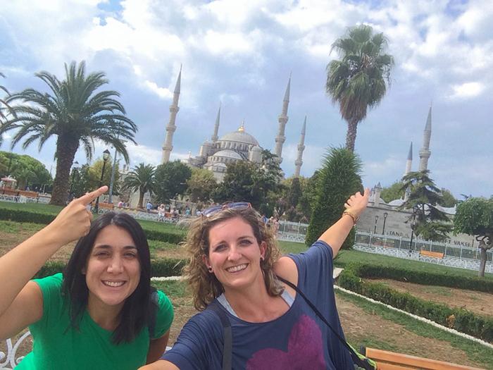 Mezquita Azul, en Estambul.