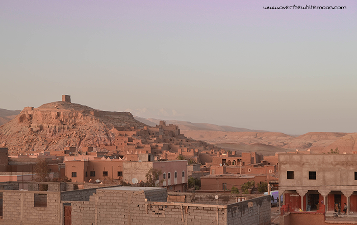 Atardecer en Aït Ben Haddou, Uarzazat (Marruecos).