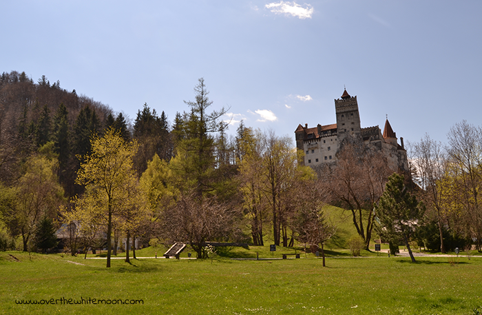 Vista del Castillo de Drácula, en Bran (Rumanía).
