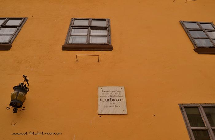 Casa en la que nació Vlad Tepes, en Sighisoara (Rumanía).