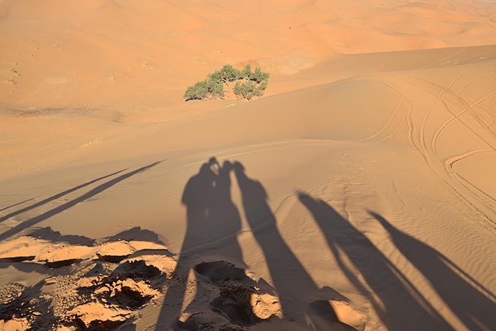 Desierto de Erg Chebbi, en Marruecos