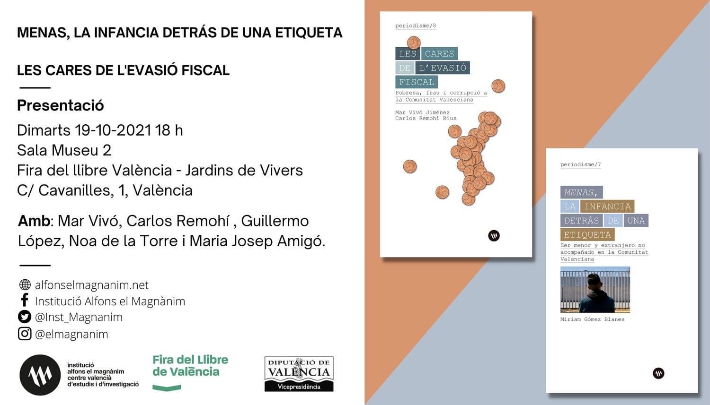 """""""Menas, la infancia detrás de una etiqueta"""", en la Fira del Llibre de València."""